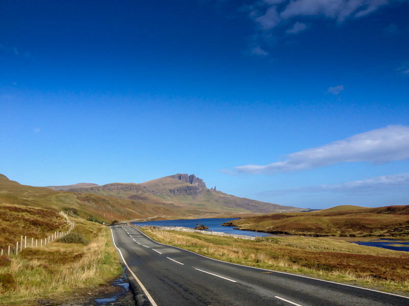 Approaching The Storr