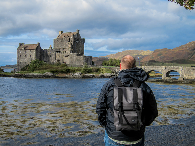 Aaron and Eilean Donan Castle